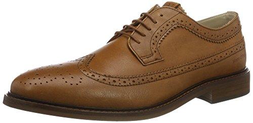 Marc Opolo 70123773402102 Chaussure À Lacets, Chaussures Pour Hommes Brun (cognac)