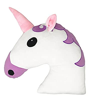 35CM Large Emoti Pillow Unicorn Emoticon Cushion Desire Deluxe