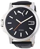Puma Herren-Armbanduhr XL Ultrasize Analog Quarz Leder PU103461001