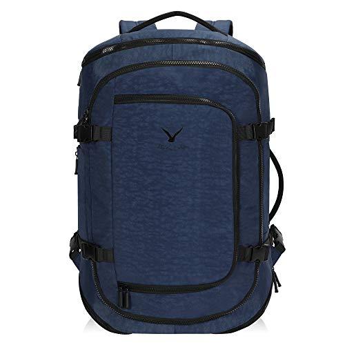 Hynes Eagle 45L Handgepäck Rucksack für Flugzeug Großer Reiserucksack Handgepäckkoffer für Damen und Herren