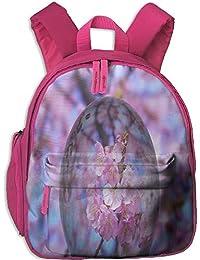 Cherry Blossoms In Water Drops Toddler Kids Pre School Bag Cute 3D Print Children School Backpack