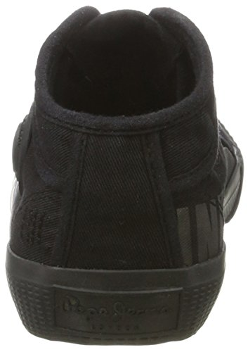 Pepe Jeans Jungen Industry Routes Boys Low-Top Schwarz (Black)