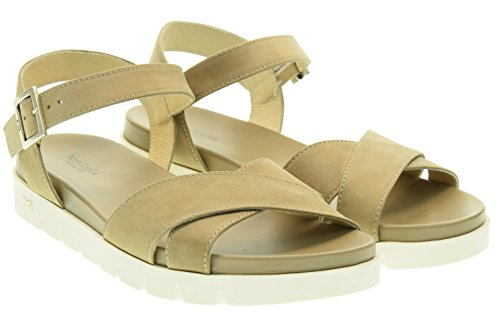 NERO GIARDINI donna sandali bassi P615741D/406 Tortora