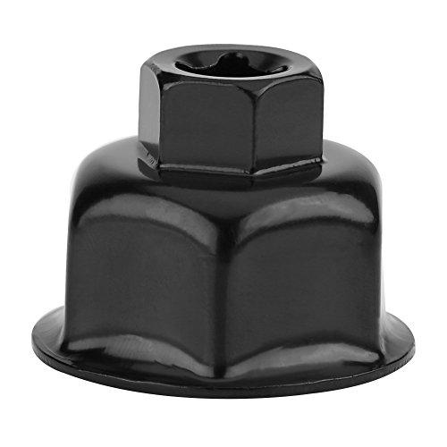 """Preisvergleich Produktbild Qiilu 36mm 3 / 8""""Auto Ölfilter Schraubenschlüssel Kappe Socket Drive Remover Werkzeug für BMW X5 Audi A6L A8L"""
