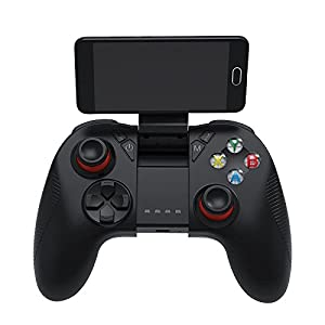 GOZAR Shinecon Sc-B04 Bluetooth 2.4 G Wireless Gamepad Game Controller Mit Vibrations-Handy-Clip