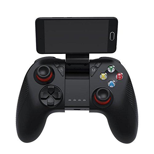 GOZAR Shinecon Sc-B04 Bluetooth 2.4 G Wireless Gamepad Game Controller Mit Vibrations-Handy-Clip (Sc-konsolen)