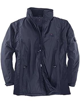 Brigg XXL Chaquetón con capucha azul oscura