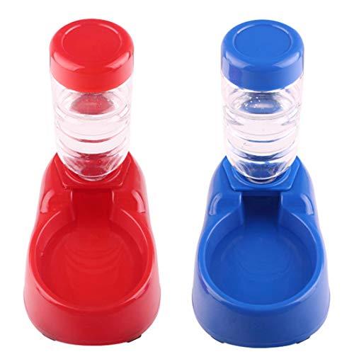 Luwu-Store Hunde Automatische Wasserspender Feeder Drinker Utensilien Schüssel Katzen Trinkbrunnen Futternapf Pet Bowl -