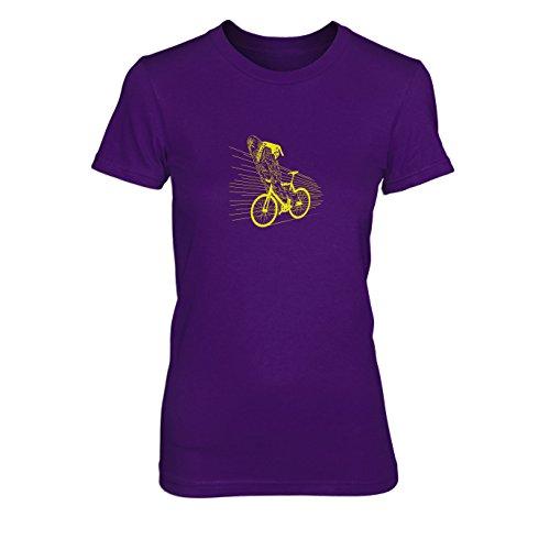 SW: Biker Chewie - Damen T-Shirt, Größe: XL, Farbe: ()