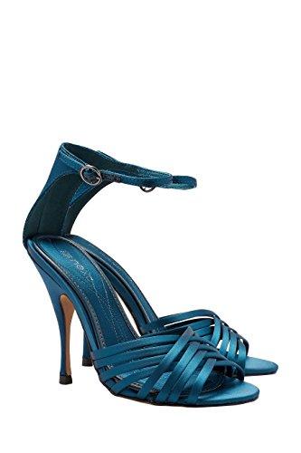 next Sandales À Brides Entrecroisées Femme Bleu