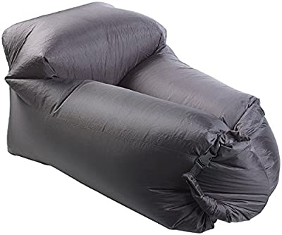 Semptec Urban Survival Technology Aufblasbarer Lounge-Sessel für den Außenbereich, Tragetasche, 120 cm