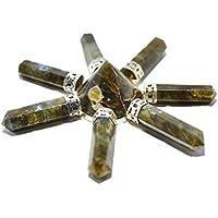 Humunize 7 Bleistift Labradorit-Energie-Generator Reiki-Energie-Generator Pyramide Stein Spirituell Kristalltherapie... preisvergleich bei billige-tabletten.eu
