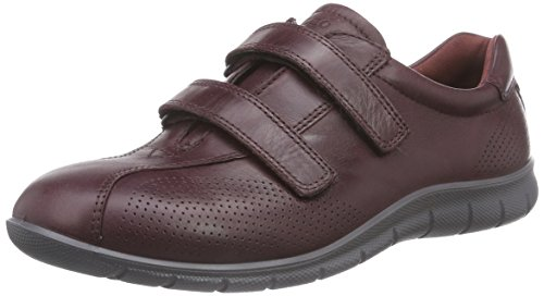 Ecco Ecco Babett, Baskets Basses femme Rouge - Bordeaux
