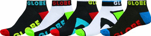 Multi-packs Socken (Globe Fearon Uni Socken Destroyer Colour Pack Ankle, multi, 7-11, GB71129060)