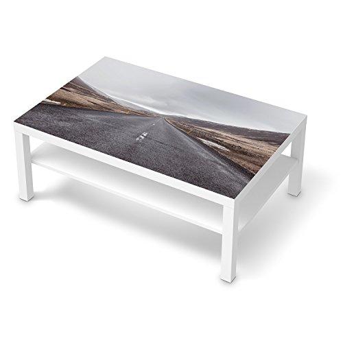 creatisto Klebefolie Sticker Tapete für IKEA Lack Tisch 118x78 cm I Möbel dekorieren Einrichtungsfolie Möbelsticker I Home und Style Esszimmer Dekoideen I Design Motiv The Road -