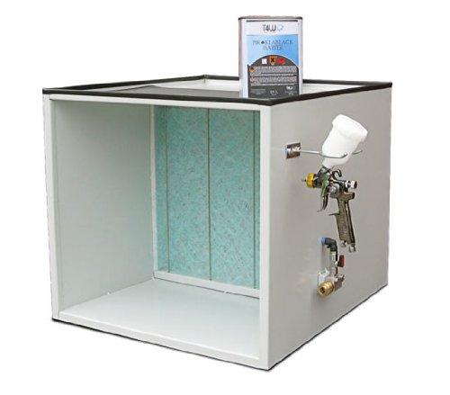 T4W Lackierer - Arbeitstisch mit Absaugvorrichtung mini lackierkabine (59241) -