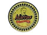 Marras Matt Clay Strong Hold - Haarwachs Matt/Pomade mit dezentem Lemon Duft auf Wasserbasis- leicht Auswaschbar - für alle Haartypen geeignet - einfache Handhabung - kein ausgetrocknetes Haar mehr