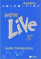 New Live : Anglais, 3e (Manuel du professeur)