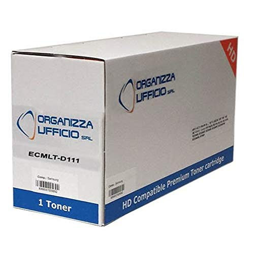Organizza Ufficio ORGS-D111L Cartuccia Toner per M Samsung SL-M2020w, SL-M2022, SL-M2022W, SL-M2070, SL-M2070FW, SL-M2070W, 1.800 Copie