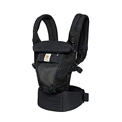 Ergobaby Adapt Baby Carrier Cool Air Mesh - Onyx Black