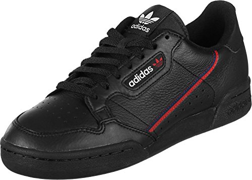 adidas Originals Continental 80 Rascal, Footwear White-Scarlet-Collegiate Navy