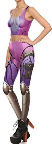 Belsen Damen Leggings mehrfarbig Vest L Leggings
