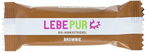 Lebepur Brownie Bio, 15 x 50 g