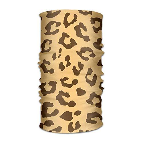 Men&Women Leopard Cheetah Tiger Pattern Headwear Bandanas Headscarf Tube Scarf Facemask Headbands Neck Gaiter Bandana Balaclava Helmet for Outdoor Running Yoga