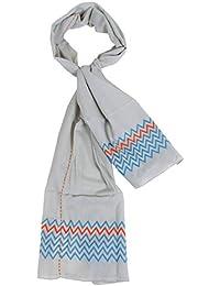 4d0e82c633a storeindya Coton tissé à la main dames sarong étole écharpe wrap casual  Cotton Stole boho pompon cover-up avec mode…
