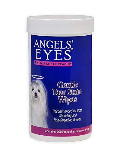 Berry Stain (Angel's Eyes Gentle Tear Stain Wipes for Dogs 200ct)