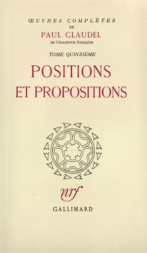 Oeuvres complètes, tome 15