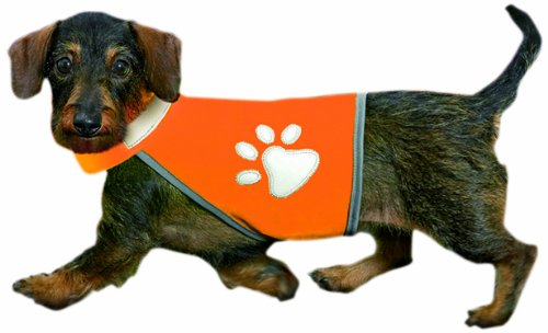 Artikelbild: Karlie Flamingo 16230 Safety Dog Weste Hw 30-40, Bw 36-46 cm, neon orange