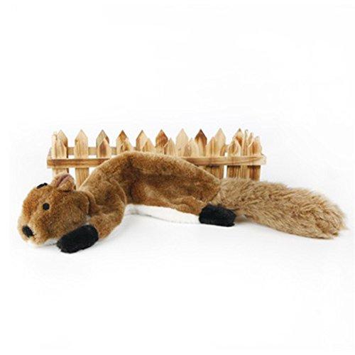 dgyl88 Hundespielzeug 5 Arten Quietschgeräusche Plüsch Pet Supplies Kauspielzeug Niedlich Welpe Imitation Tier Haut Chamois/Coonskin/Eichhörnchen/Stink/Raw Fox Lustig (Skunk Skins)