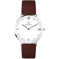 Marc Brüg Men's Minimalist Watch Mayfair 41 Hygge