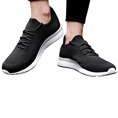 Berimaterry Zapatos de Deporte al Aire Libre de Malla Hueca Transpirable Casual para Hombres Zapatos...