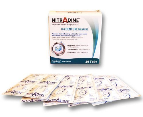Nitradine Denture Seniors Tablet...