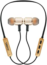 Tessco EB-284 Magnetic Wireless Sport Bluetooth Headset (1 Year Warranty)- Golden by Darkshine