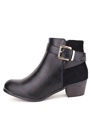 Cendriyon Bottine Noire DILAMANA Mode Chaussures Femme