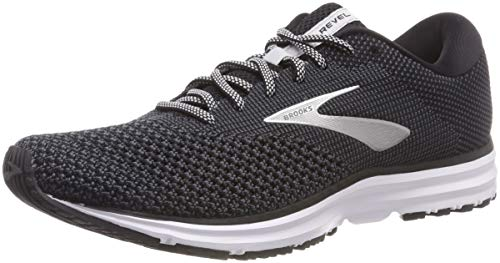 Brooks Revel 2, Scarpe da Running Uomo, Nero (Black Grey 050), 42 EU