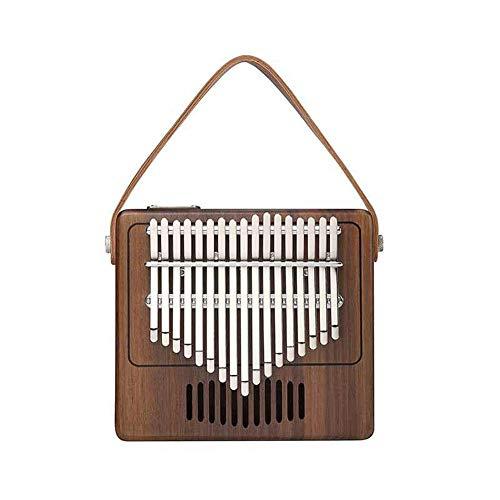 Niulyled 17chiave kalimba–single board mahogany thumb piano mbira tastiera strumento, acustica professionale in legno pianoforte musica regalo per le dita.