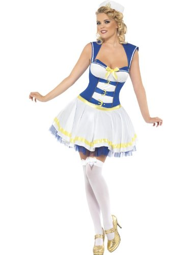 Smiffy delle - donne in costume da marinaio, formato XS (XS 26201)