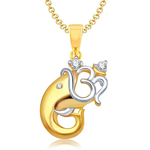 "Voylla Ganesh ""OM"" Pendant Gift For Men"