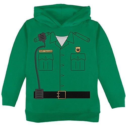 k Ranger Kostüm Kleinkind Hoodie grün 4 t (Halloween Forest Park)