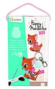 Avenue Mandarine - Happy Mandarine Box, Cervatillos para bordear (KC005O)