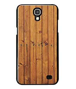 Fuson Designer Back Case Cover for Samsung Galaxy Mega 2 SM-G750H (Wood Lakadi Antique Fashion Wood finish Dark Grey )