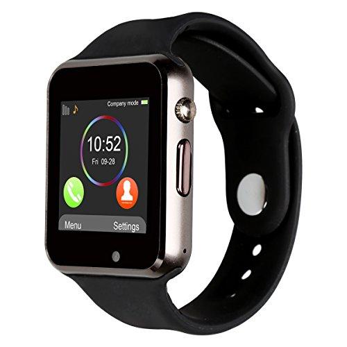 Galleria fotografica Kivors 2017 Nuovo Modello A1 Orologio Smartwatch da Polso Supporta Schede TF per IOS Android Samsung Sony LG HTC Iphone7/6s/6/5s/5 Fitness Bluetooth Touch Screen Fotocamera con Slot SIM Card 2.0