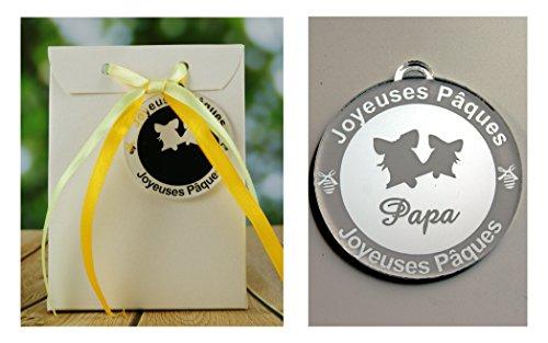 Boite de Chocolat garnie – Joyeuses Pâques Papa (Cadeau pour Pâques) – Mod. Cloche