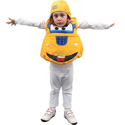 Giochi preziosi 44193 super wings costume bambino donnie taglia 3-4 anni