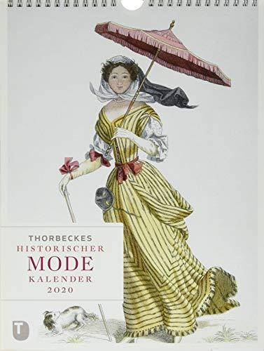 Thorbeckes historischer Mode-Kalender 2020 (Mode Kalender)