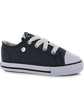 Dunlop Kinder Baby Canvas Leinenschuhe Textil Schnürschuhe Turnschuhe Schuhe